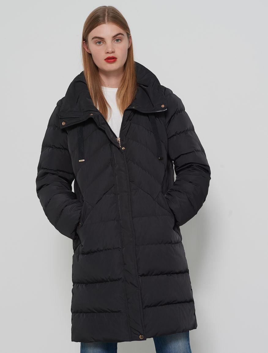 Taffeta quilted jacket Marella