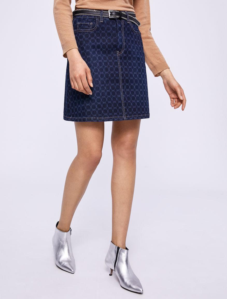 Denim miniskirt. Marella