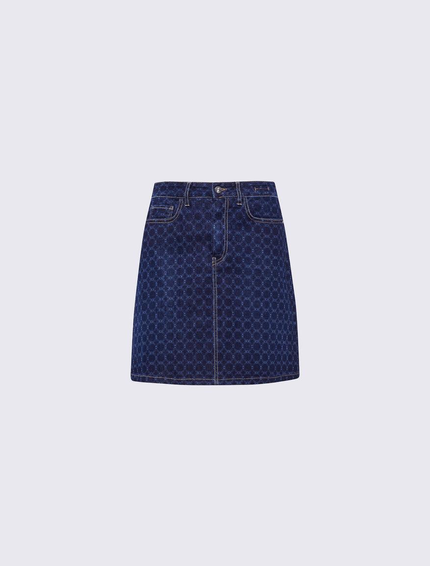 Minifalda de denim Marella