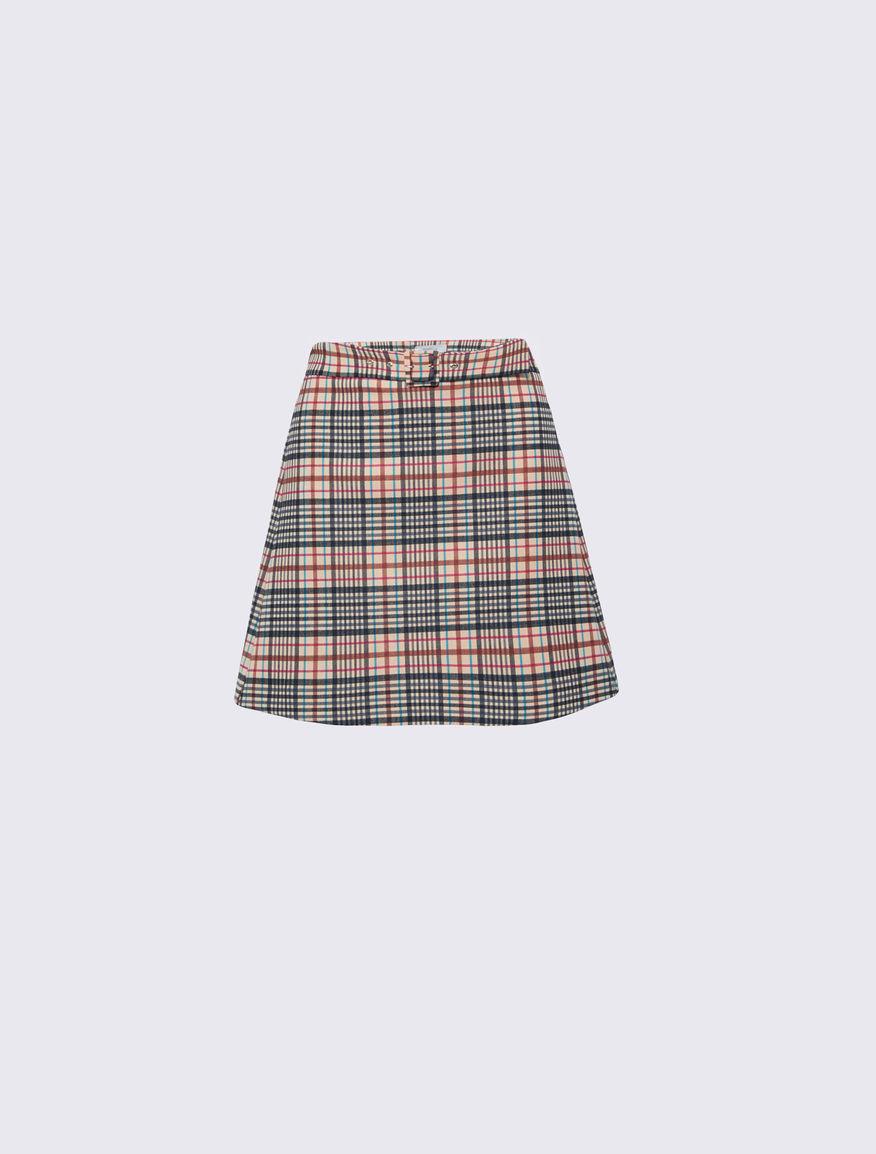 Checked mini skirt Marella