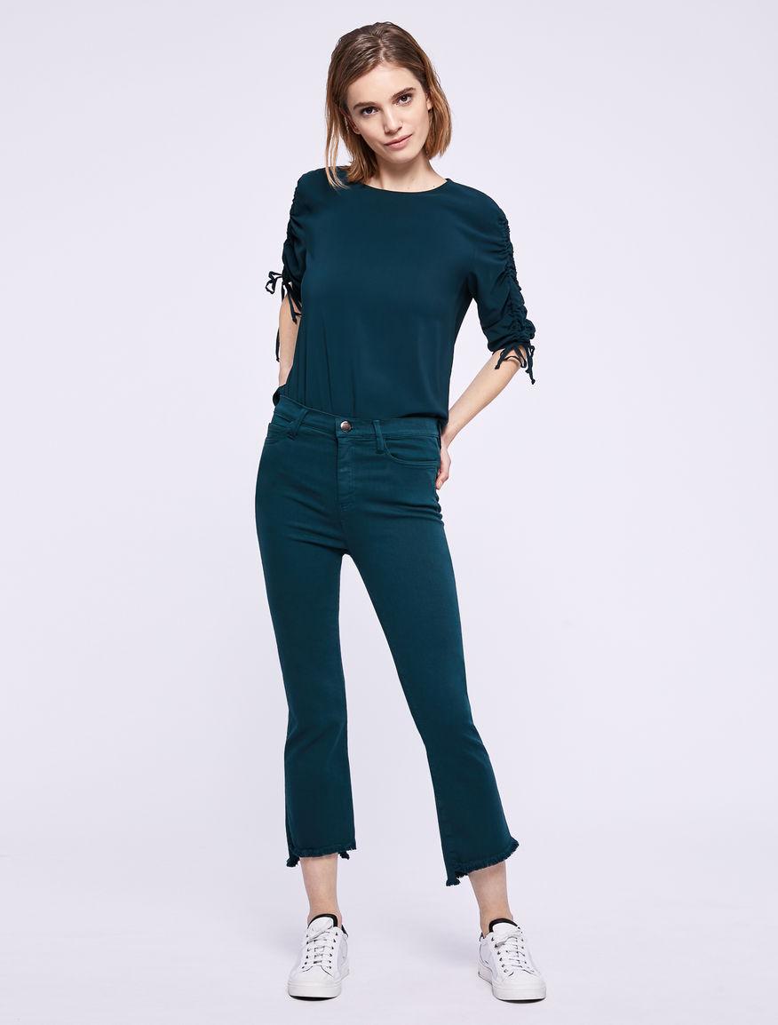 Drawstring blouse. Marella