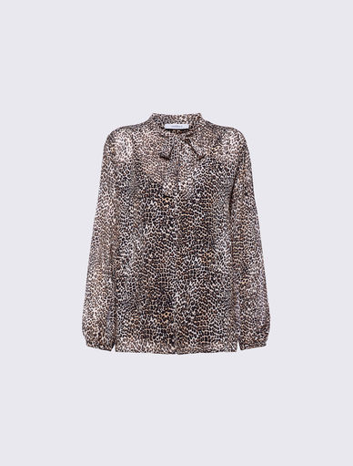 Animal print blouse Marella