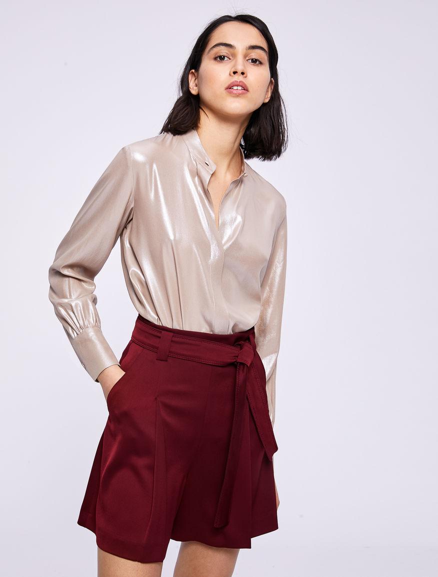 Laminated shirt Marella