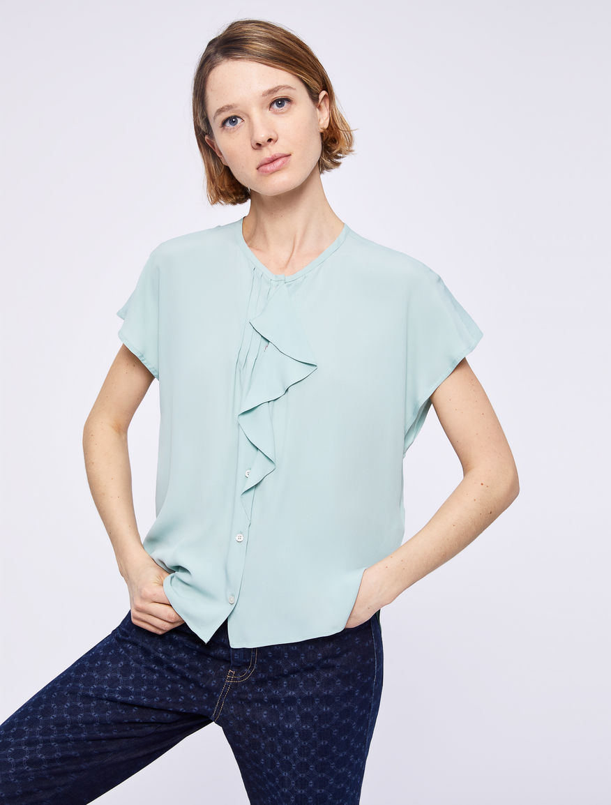 Shirt with flounce Marella
