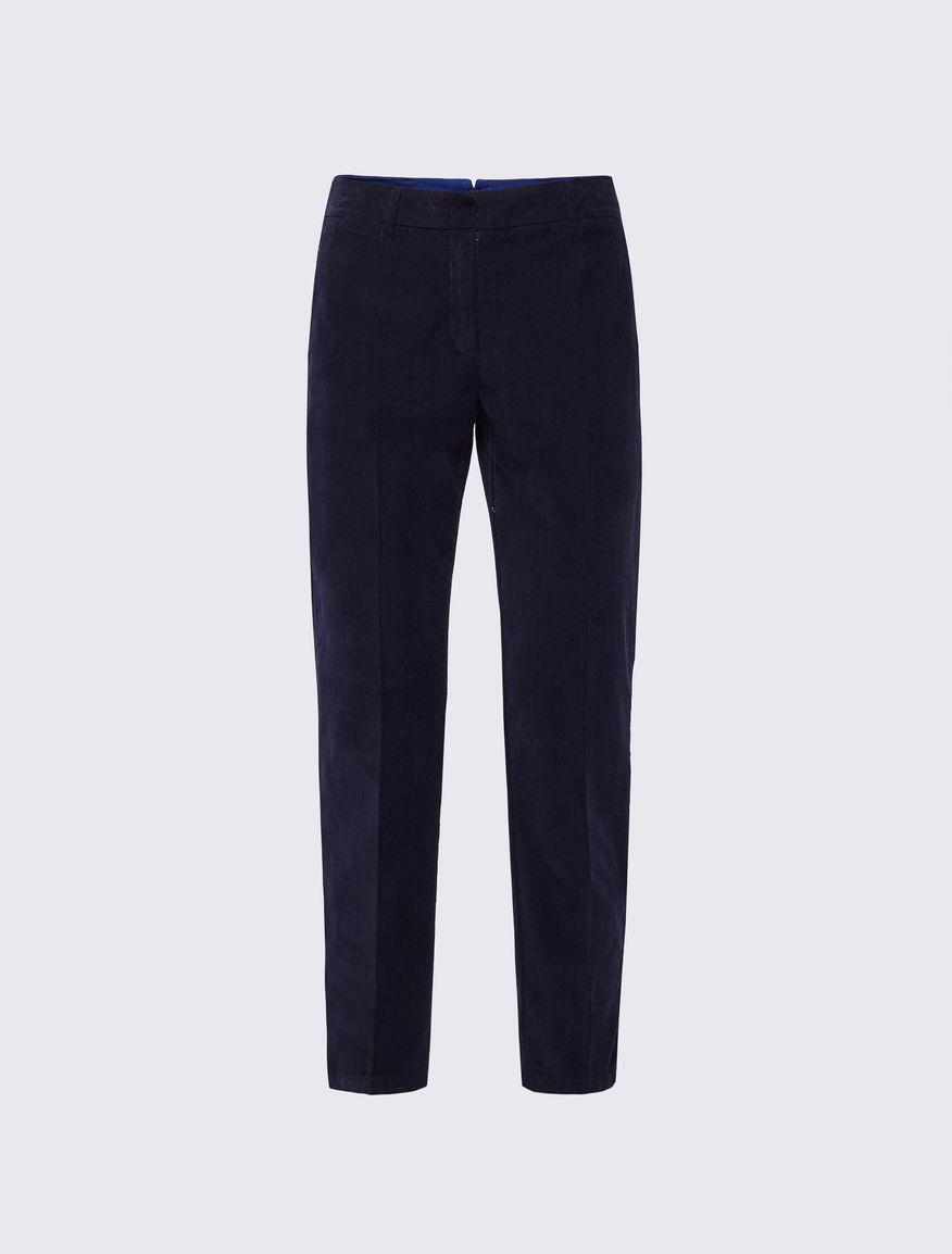 Corduroy trousers Marella
