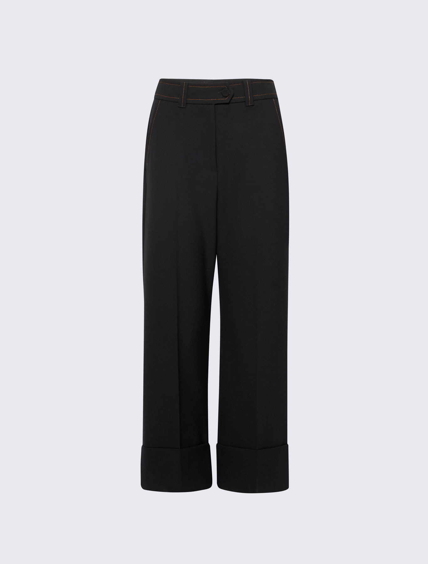 catch big sale low price sale Cropped trousers, black - Marella