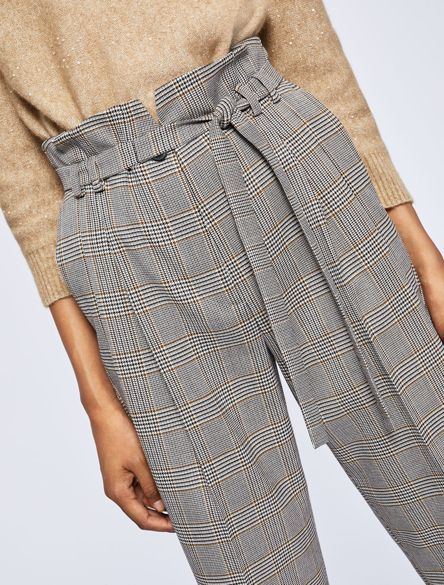 High-waist trousers Marella