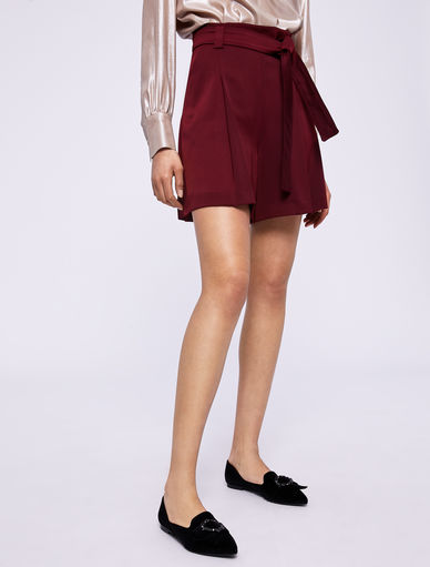 Satin shorts Marella