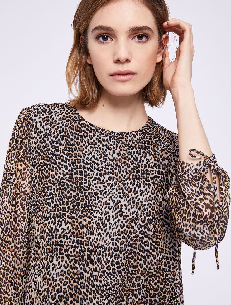 Animal print dress Marella