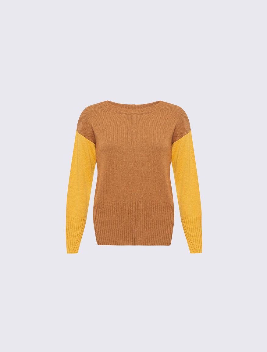 Colour block jumper Marella