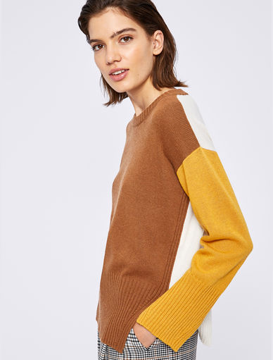 Colour block jumper Marella