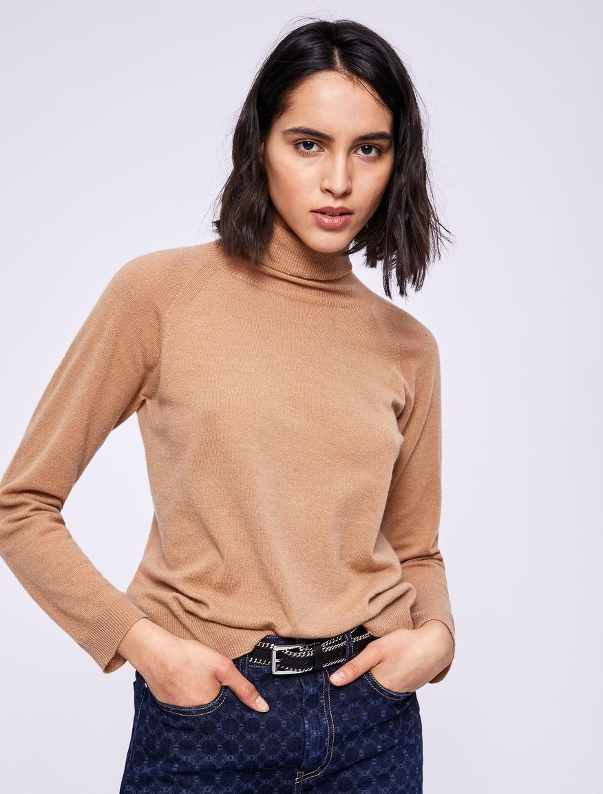 Cashmere polo neck jumper Marella