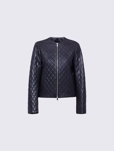 Leather jacket Marella