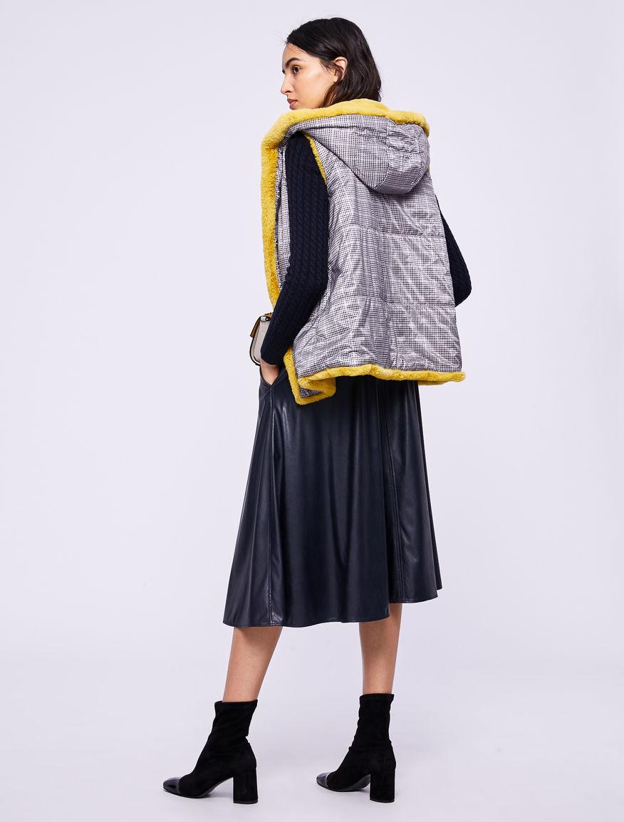 Reversible sleeveless jacket Marella