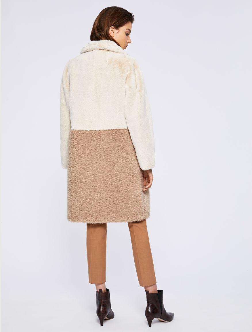 Two-tone coat Marella