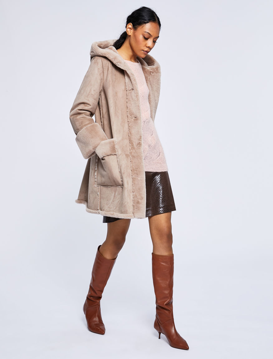 Hooded coat Marella