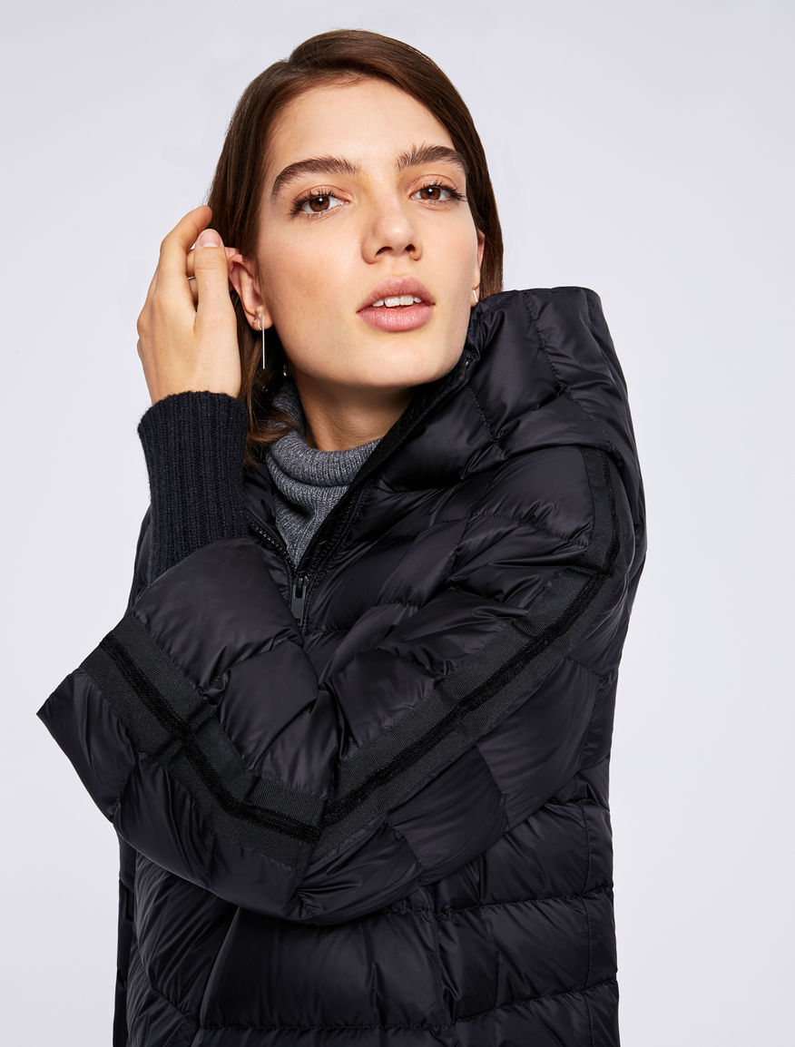 Puffer jacket with side band Marella