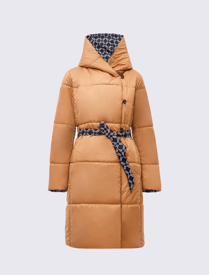 THINDOWN patterned padded coat Marella