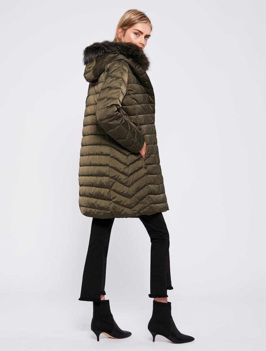 Satin puffer jacket Marella