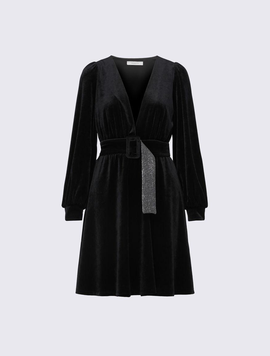 Robe en velours Marella