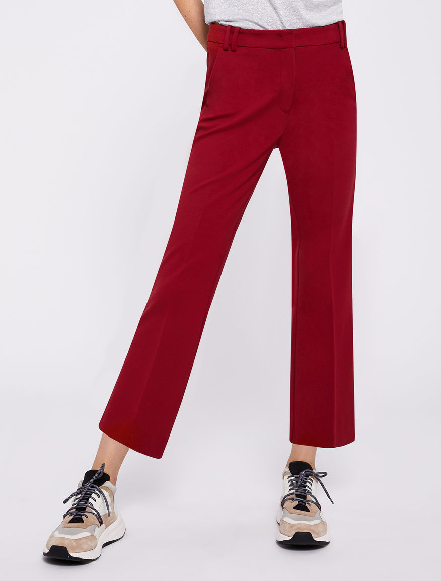 Jersey trousers Marella
