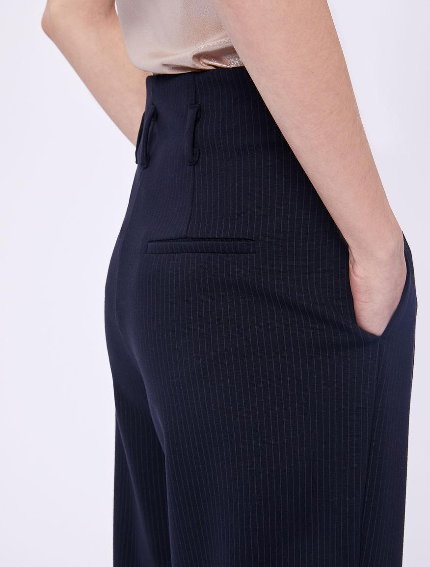 Pantaloni gessati Marella