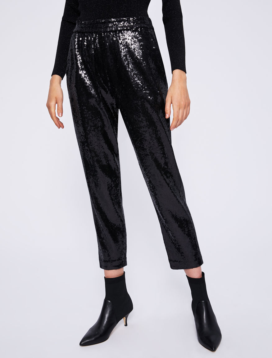Sequinned trousers Marella