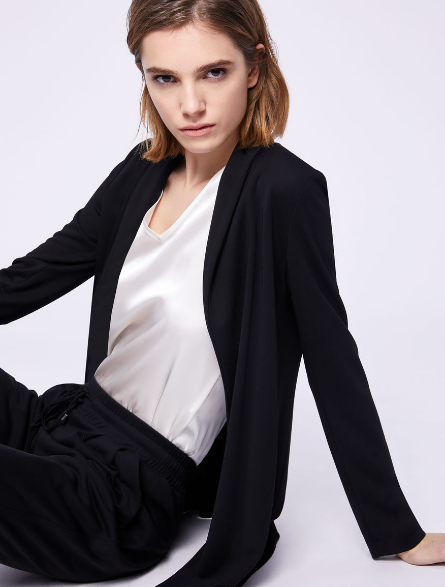 Jersey blazer Marella