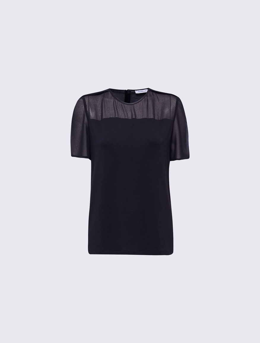 Two-material T-shirt Marella