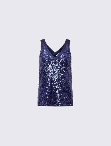 Top en sequins Marella