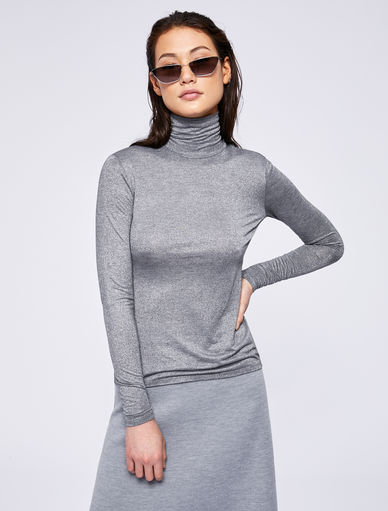 Lurex polo neck jumper Marella