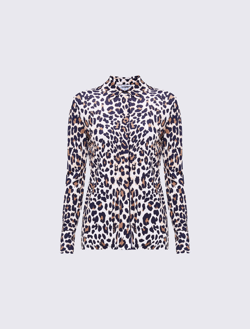 Camisa animal print Marella