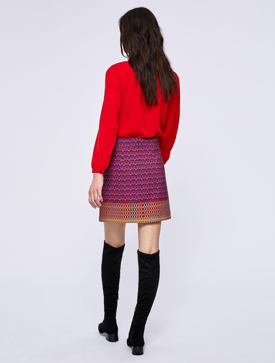 Camicia in crêpe Marella
