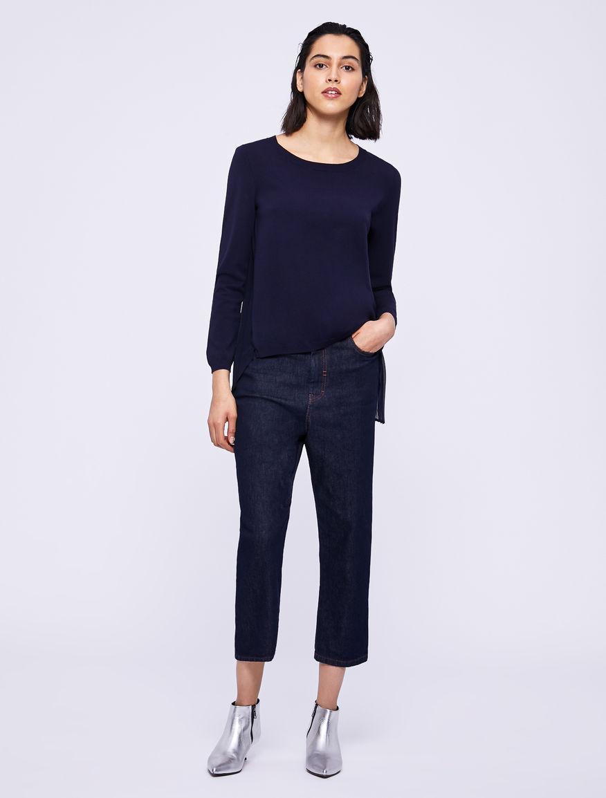 Two-fabric jumper Marella