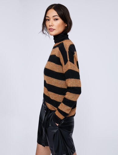 Pull en laine mélangée d'alpaga Marella