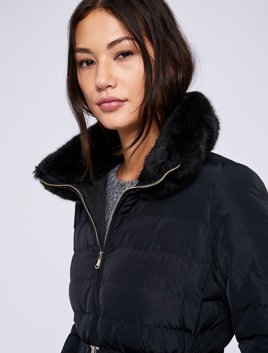 Belted puffer jacket Marella