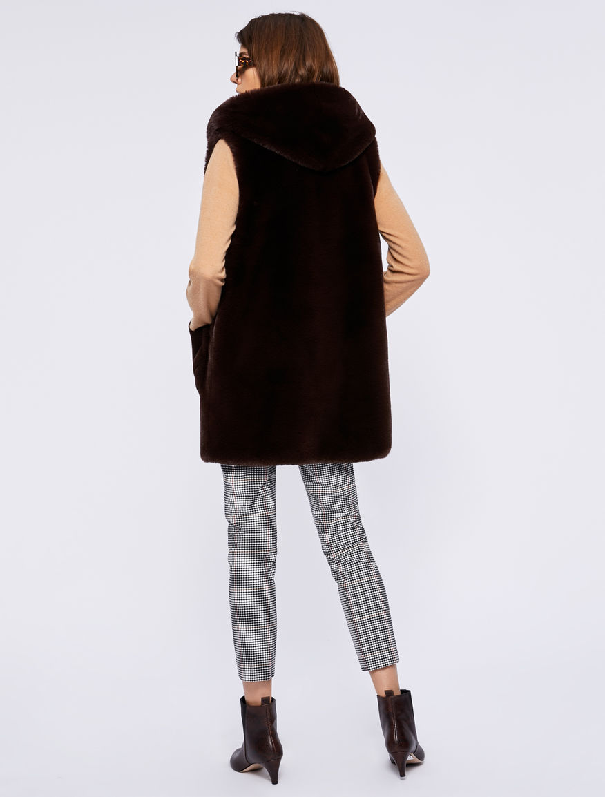 Hooded gilet Marella