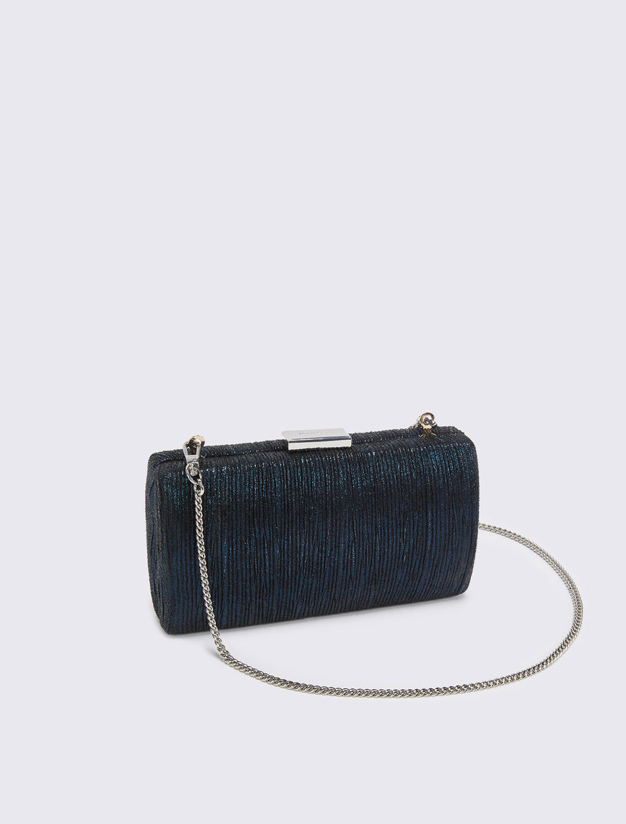 Lamé clutch bag Marella