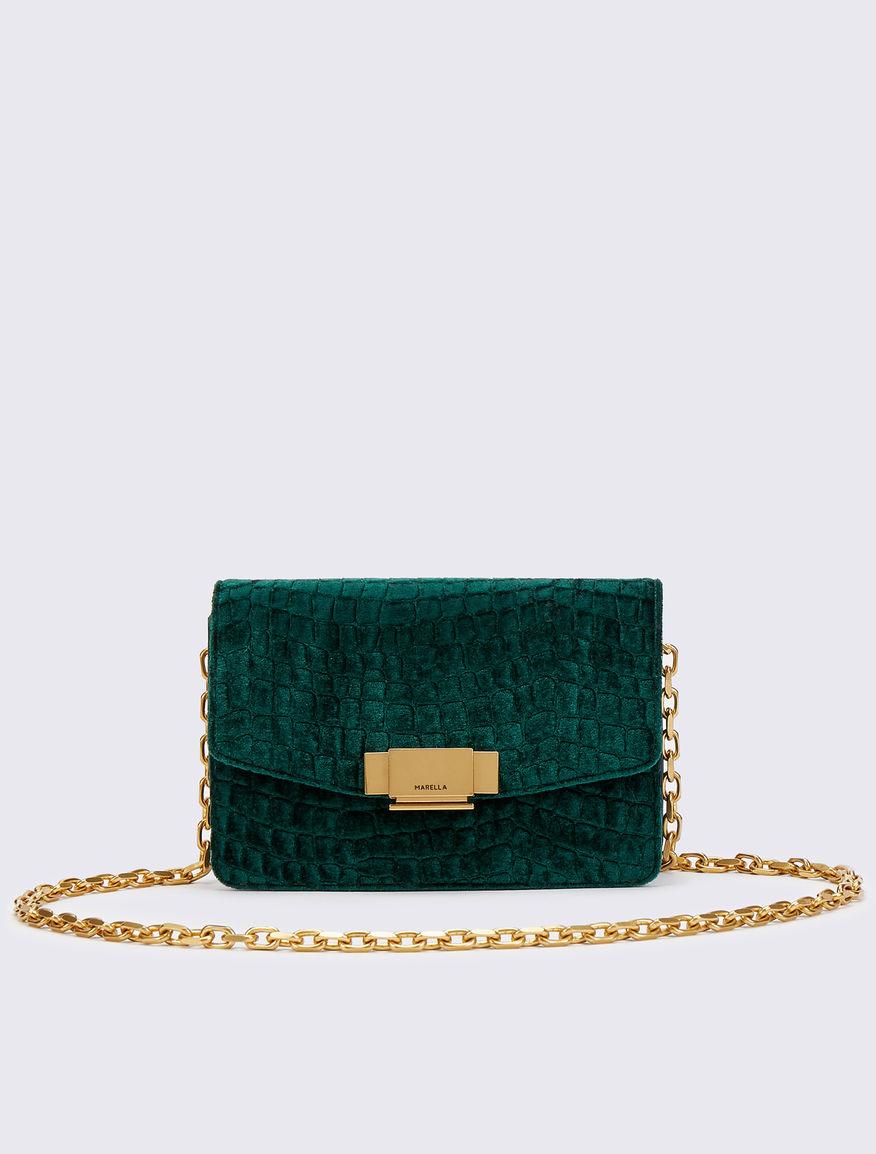 Velvet bag Marella