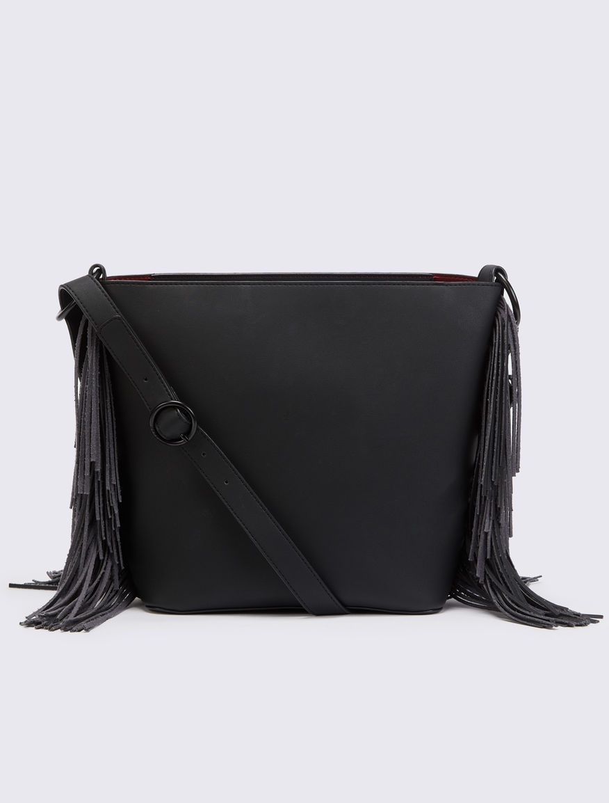 Fringed bucket bag Marella