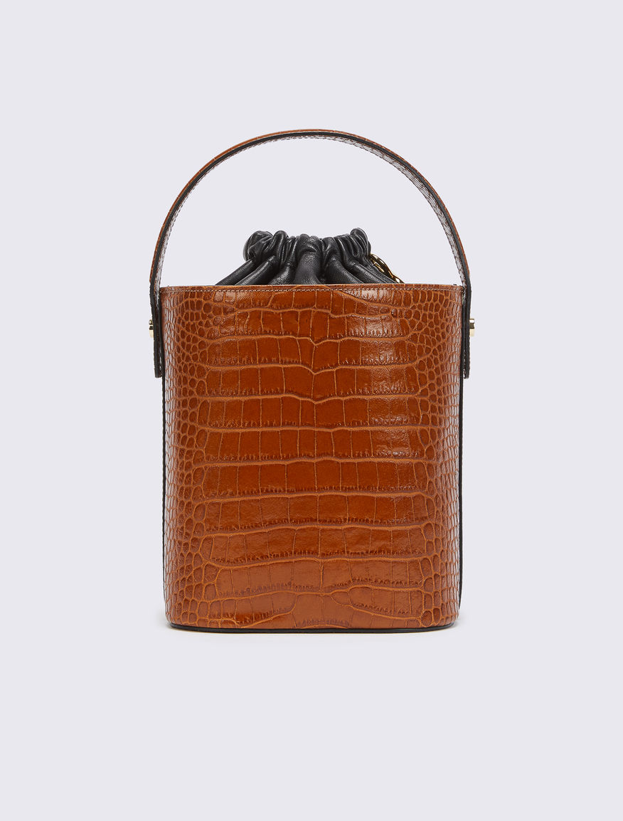 Leather bucket bag Marella