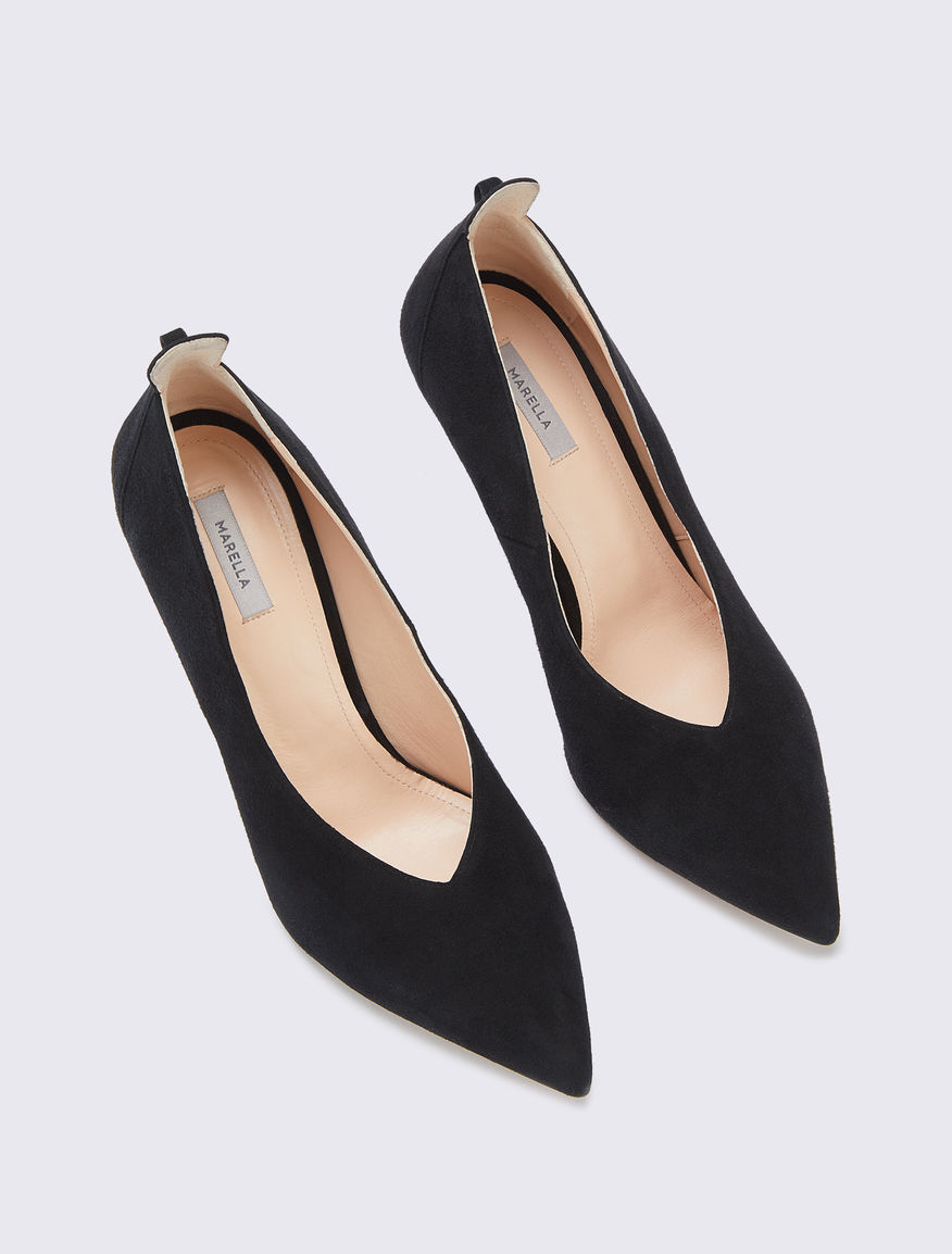 Suede court shoe Marella