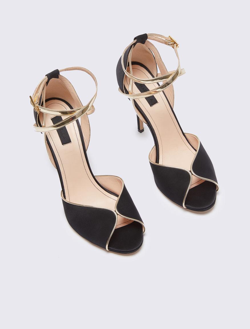Sandali in raso Marella