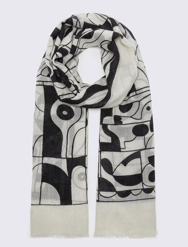 LW x ART.365 scarf Marella