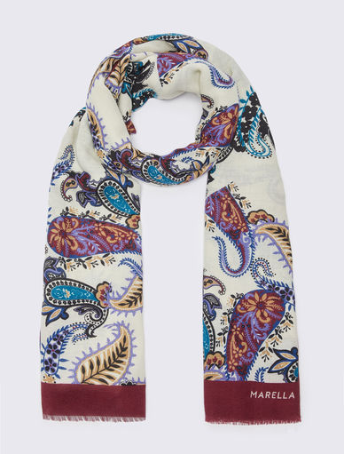 Patterned scarf Marella