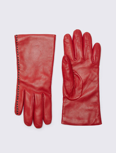 Leather gloves Marella