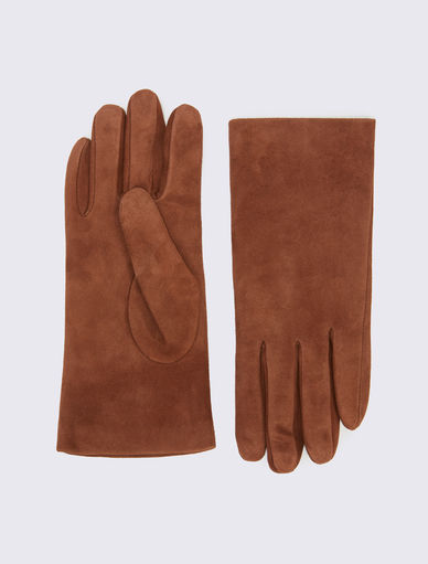 Suede gloves Marella