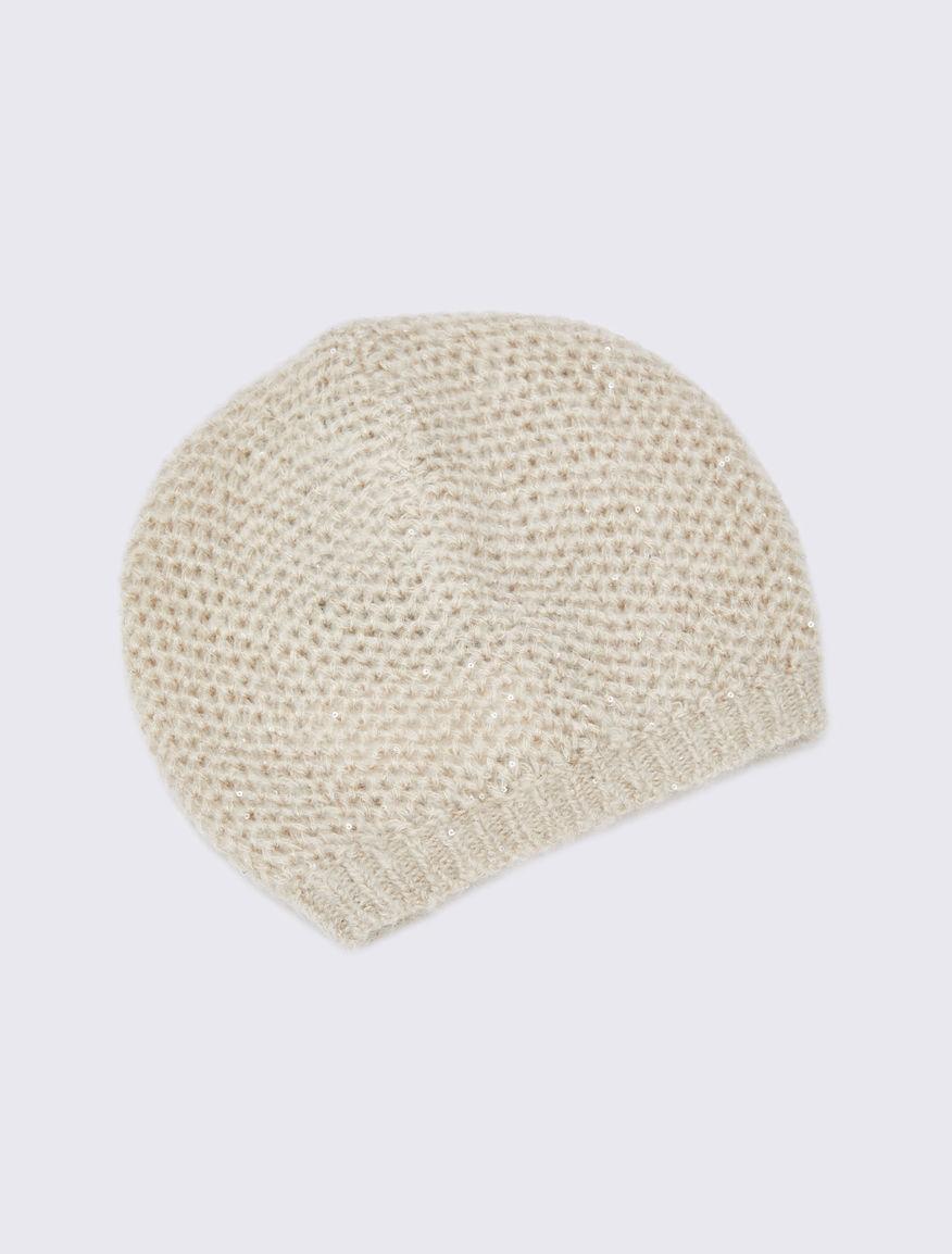Sequinned beret Marella