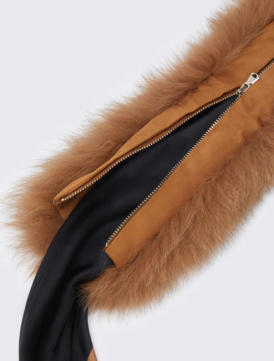 Foulard with fur Marella