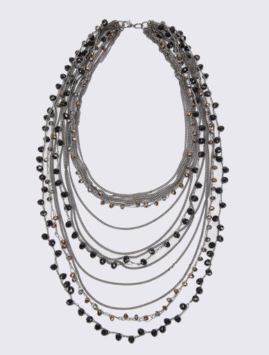 Multi-strand necklace. Marella